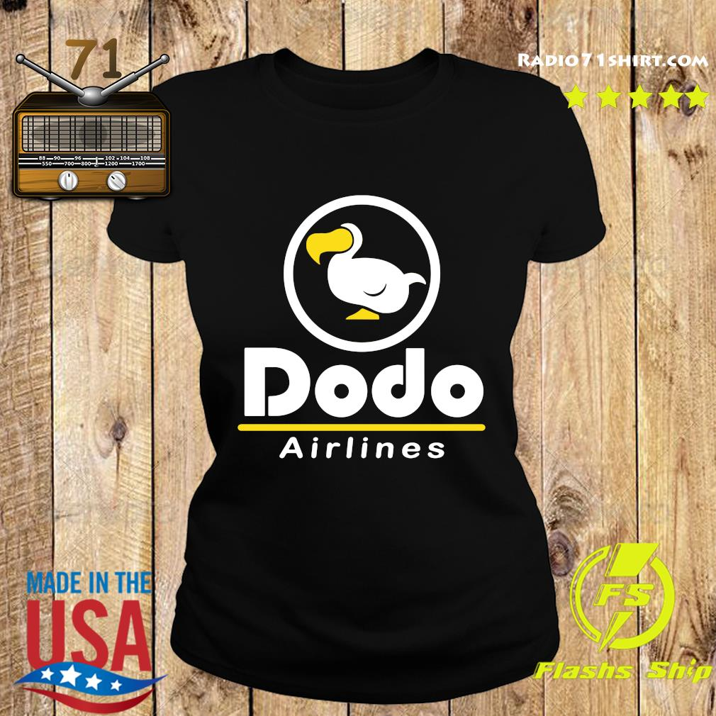Dodo Airlines Shirt Ladies tee