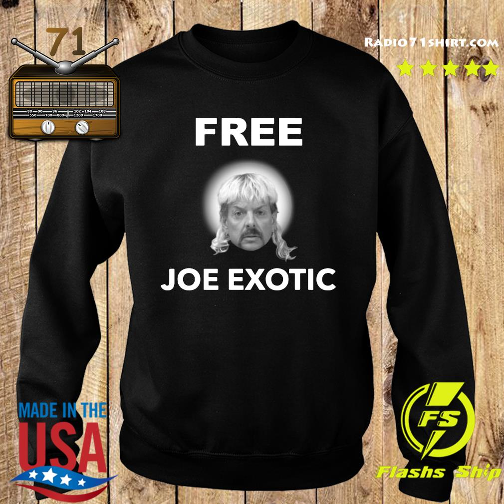 Free Joe Exotic Face Shirt Sweater