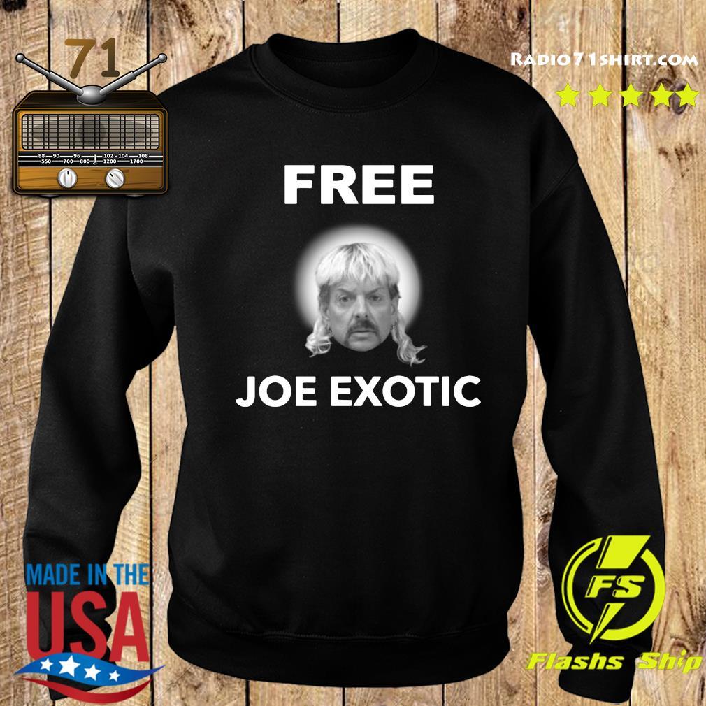 Free Joe Exotic Face Shirt Sweater
