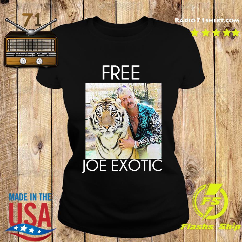 Free Joe Exotic Shirt Ladies tee