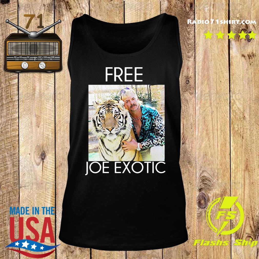 Free Joe Exotic Shirt Tank top