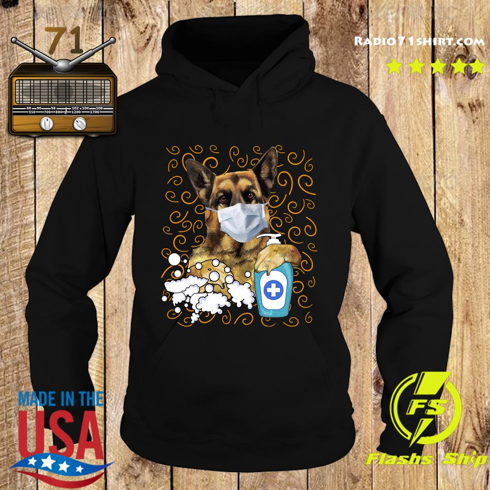 German Shepherd face mask s Hoodie