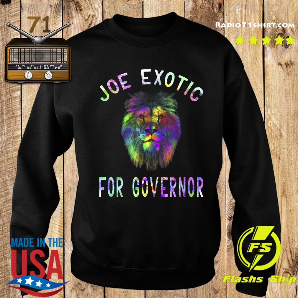 Joe Exotic For Governor s Sweater