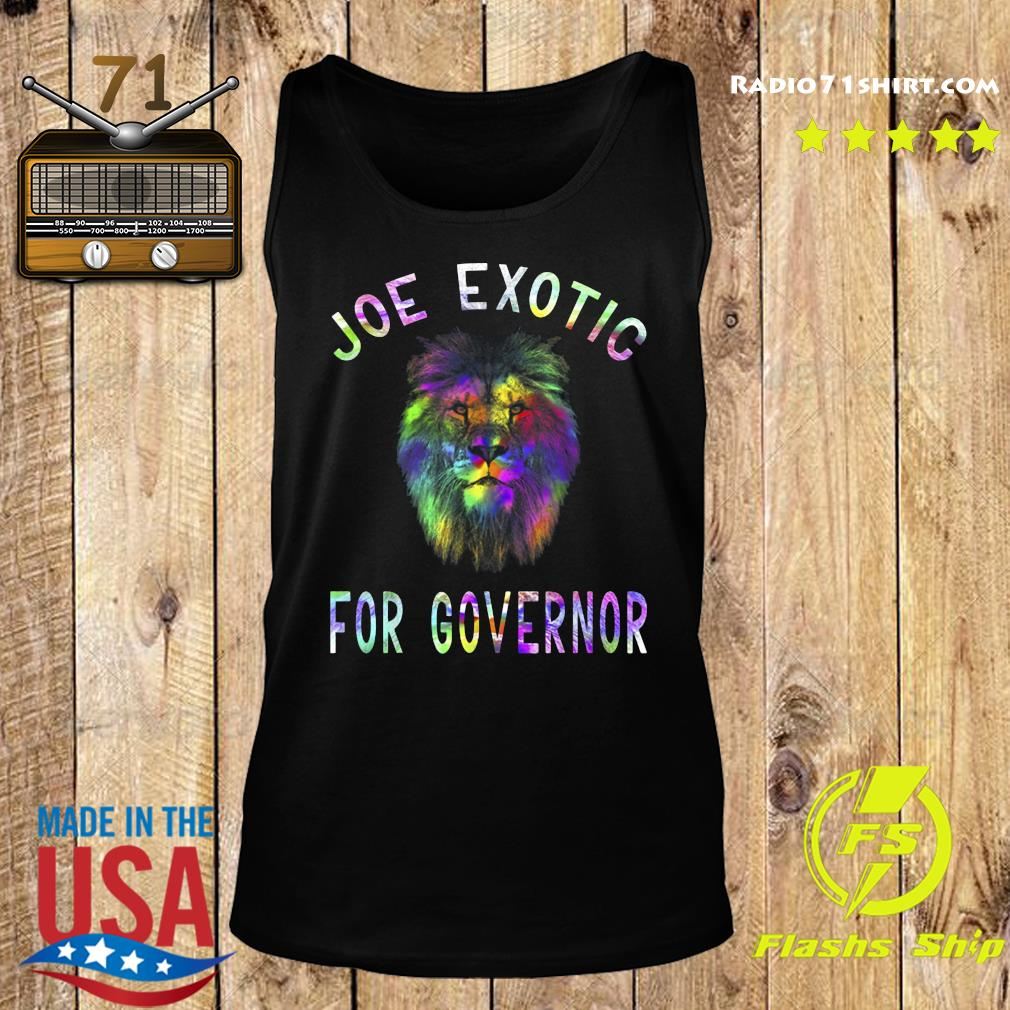 Joe Exotic For Governor s Tank top