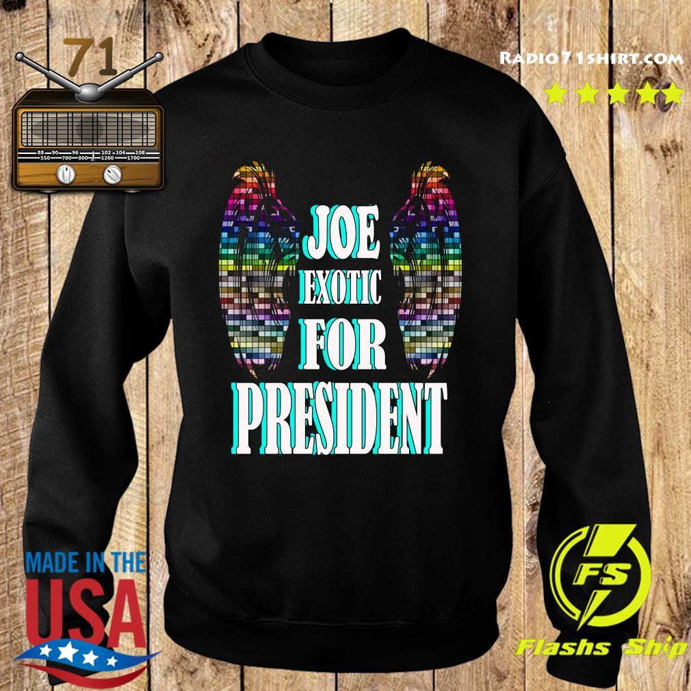 Joe Exotic for president Wings s Sweater