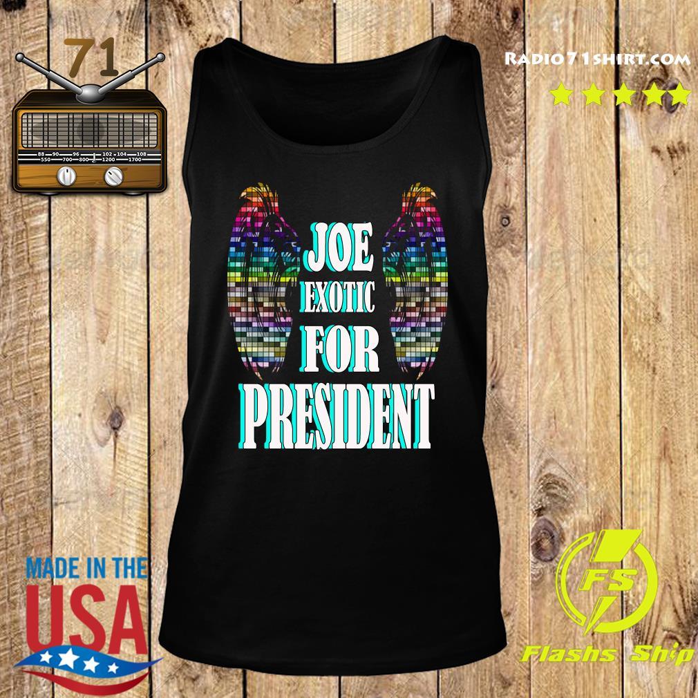 Joe Exotic for president Wings s Tank top