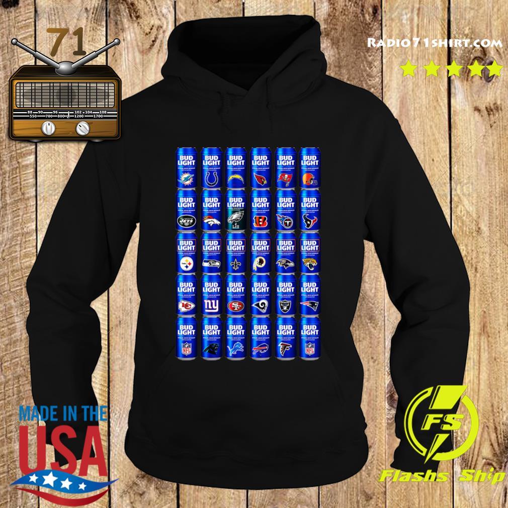 NFL Bud Light Logo Shirt Hoodie