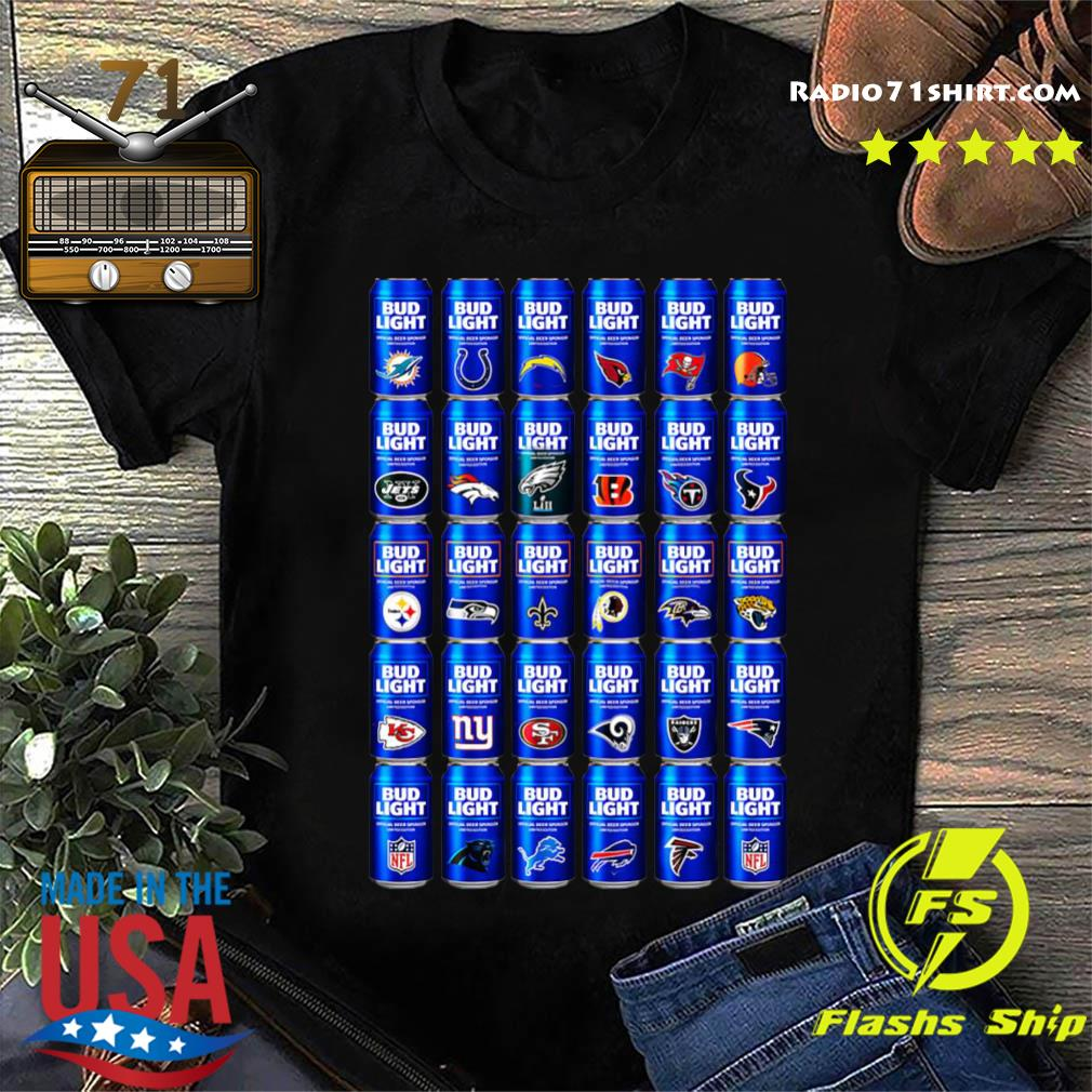 NFL Bud Light Logo Shirt