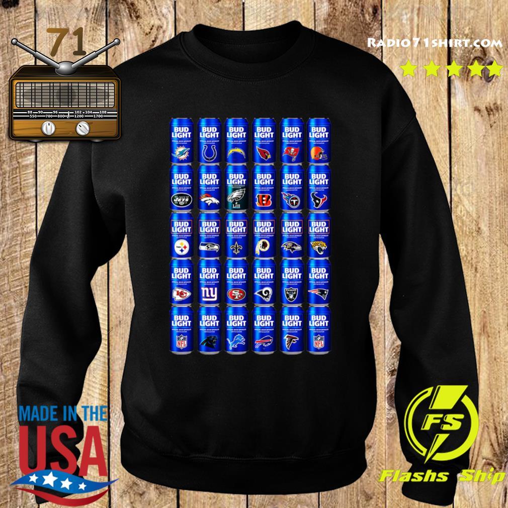 NFL Bud Light Logo Shirt Sweater