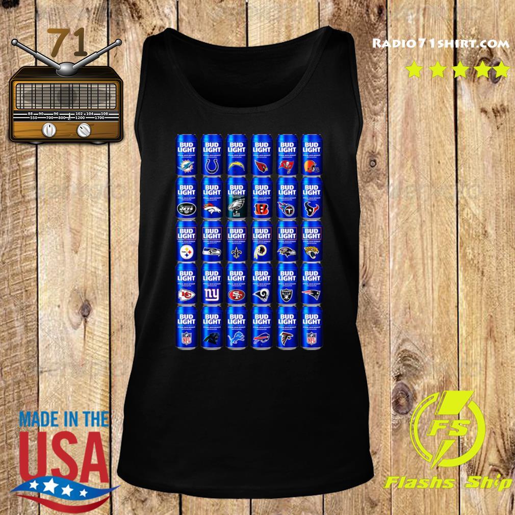 NFL Bud Light Logo Shirt Tank top