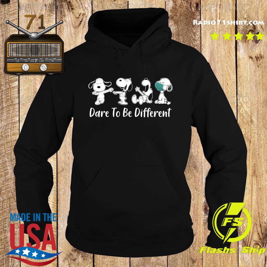 Snoopy 2020 Mask dare to be different s Hoodie