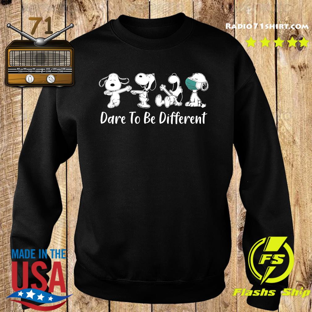Snoopy 2020 Mask dare to be different s Sweater
