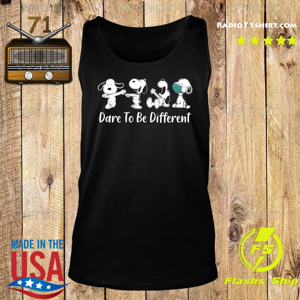 Snoopy 2020 Mask dare to be different s Tank top