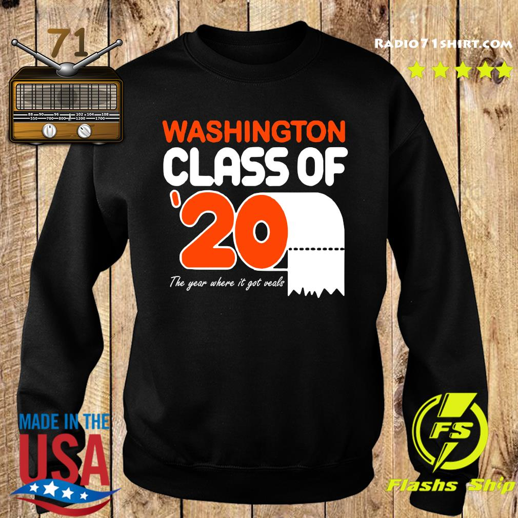 Washington class of 2020 toilet paper the year where it got veals s Sweater