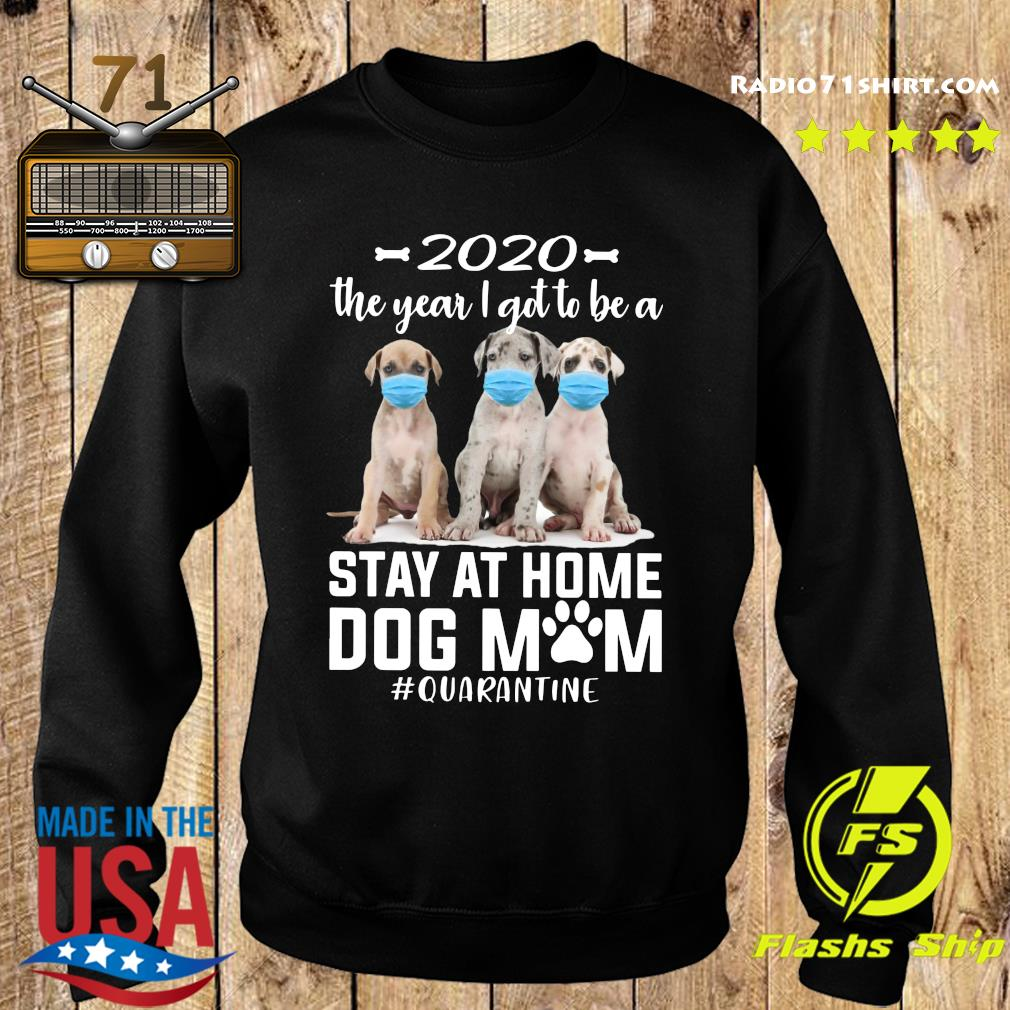 2020 The Year I Got To Be A Stay At Home Labrador Dog Mom Quarantine Shirt Sweater
