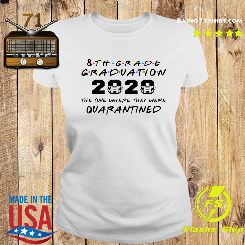 8th Grade Graduation Quarantine Shirt