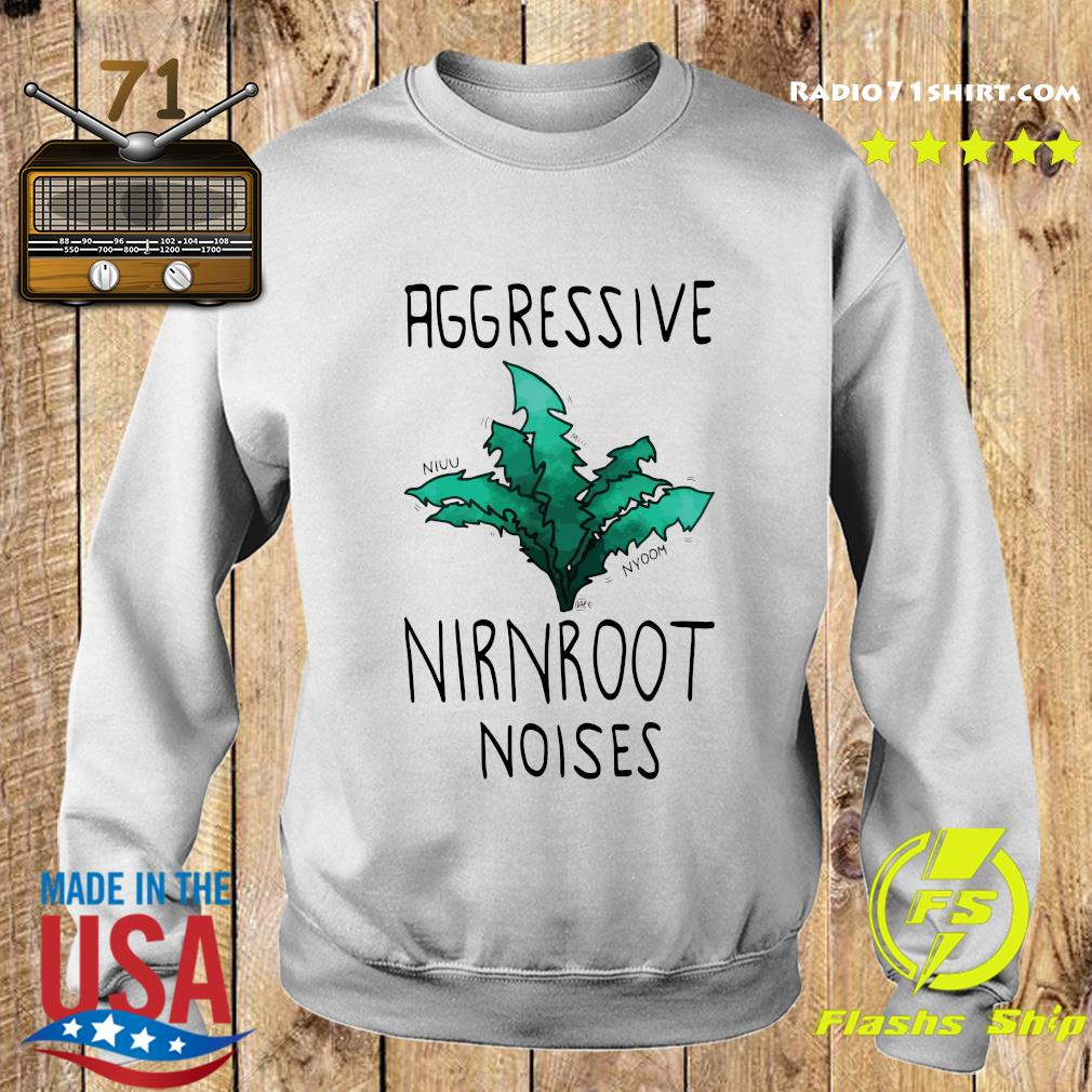 Aggressive Nirnroot Noises Fitted Scoop T-Shirt Sweater