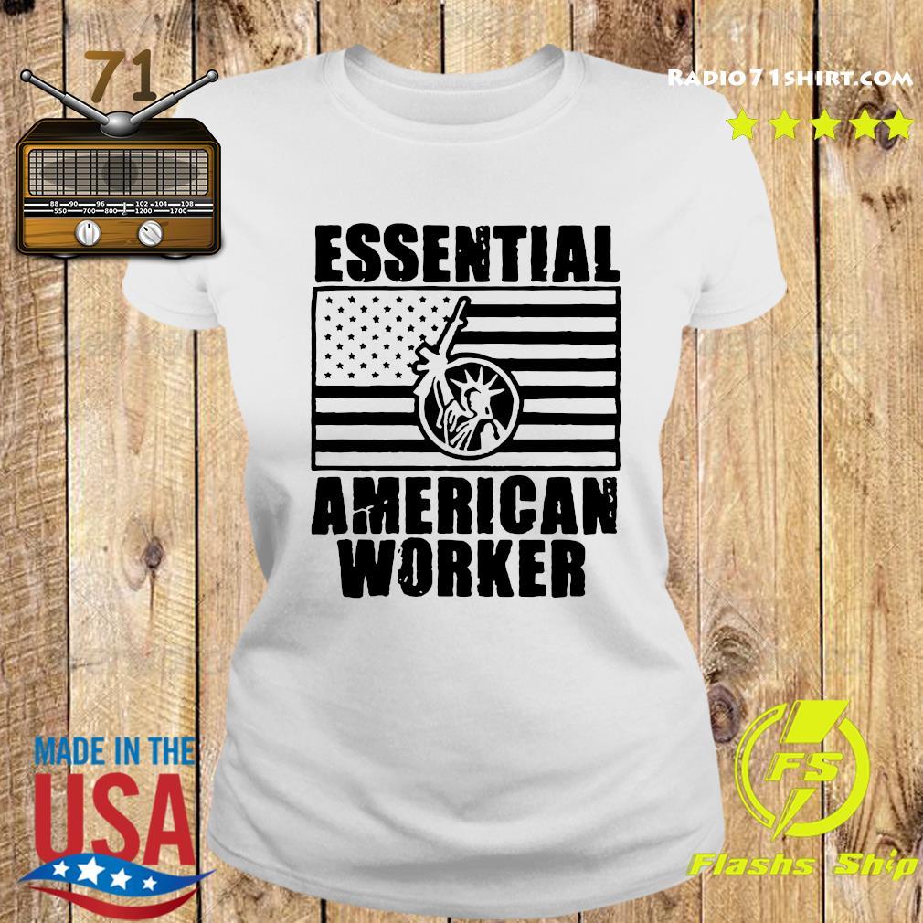 Armed American Supply Essential American Worker Shirt Ladies tee
