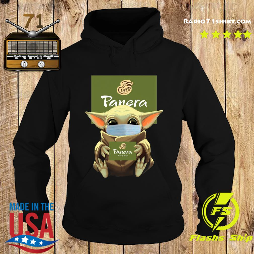 Baby Yoda Face Mask Hug Panera Bread Shirt Hoodie