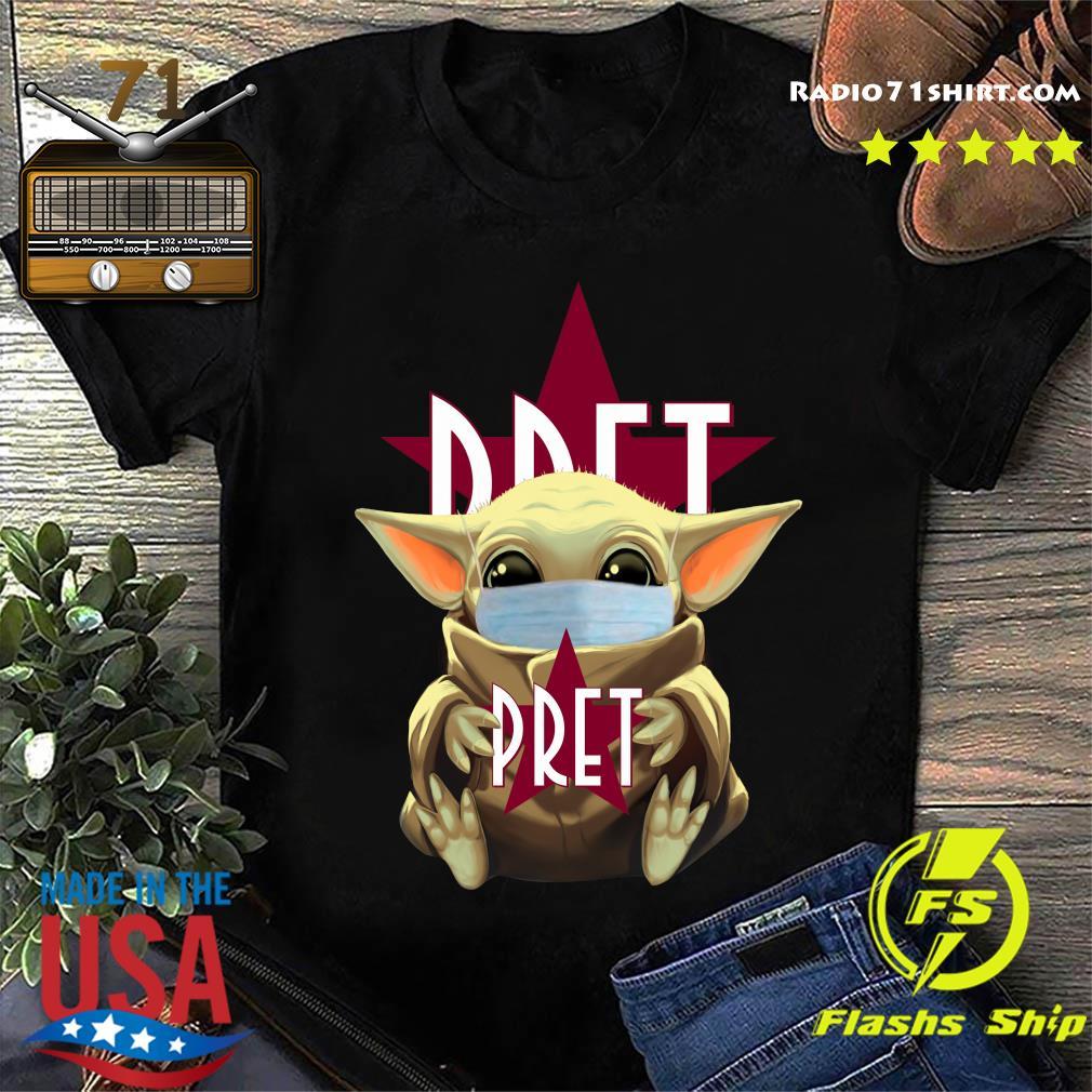 Baby Yoda Face Mask Hug Pret Shirt