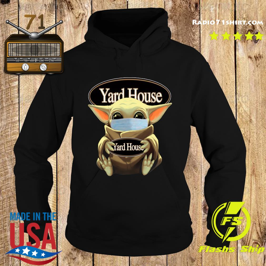 Baby Yoda Face Mask Hug Yard House Shirt Hoodie