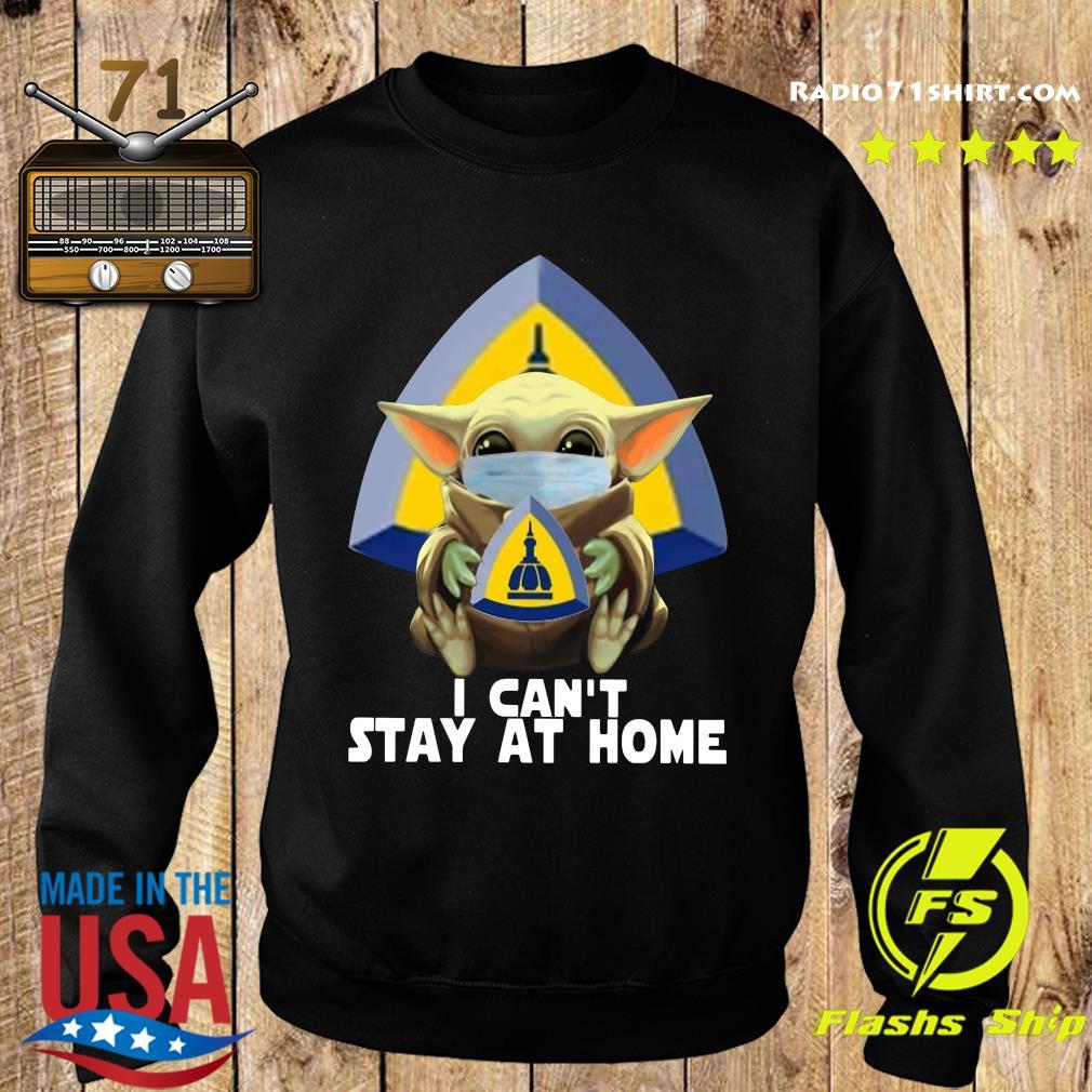 Baby Yoda Mask Johns Hopkins University School Of Nursing I Can't Stay At Home Shirt Sweater