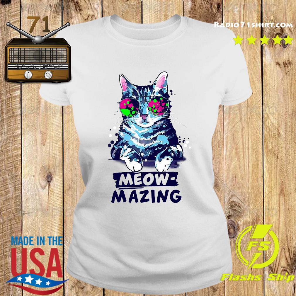 Cat Meow Amazing Shirt Ladies tee