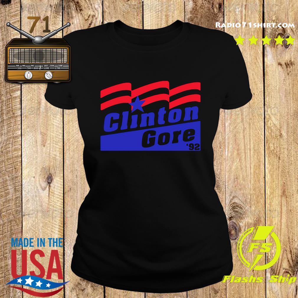 Clinton Gore 1992 Retro Campaign Unisex T-Shirt Ladies tee