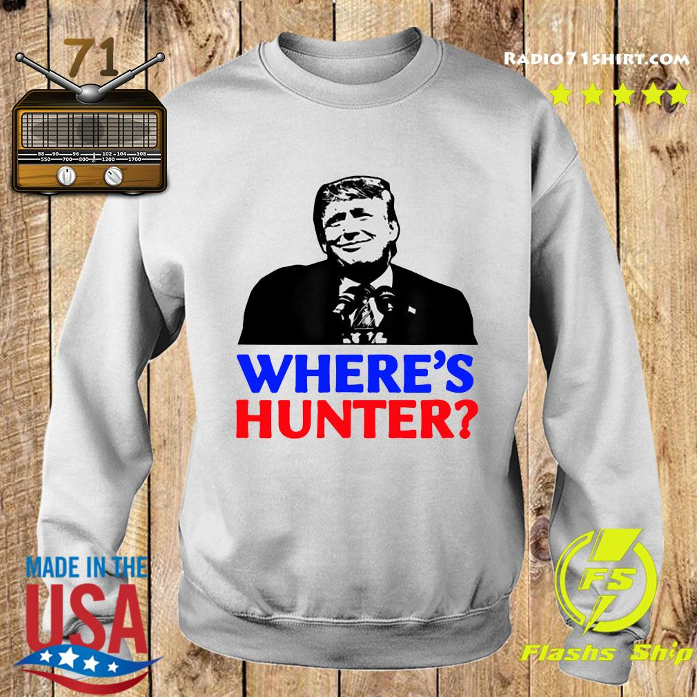 Donald Trump Where_s Hunter Shirt Sweater