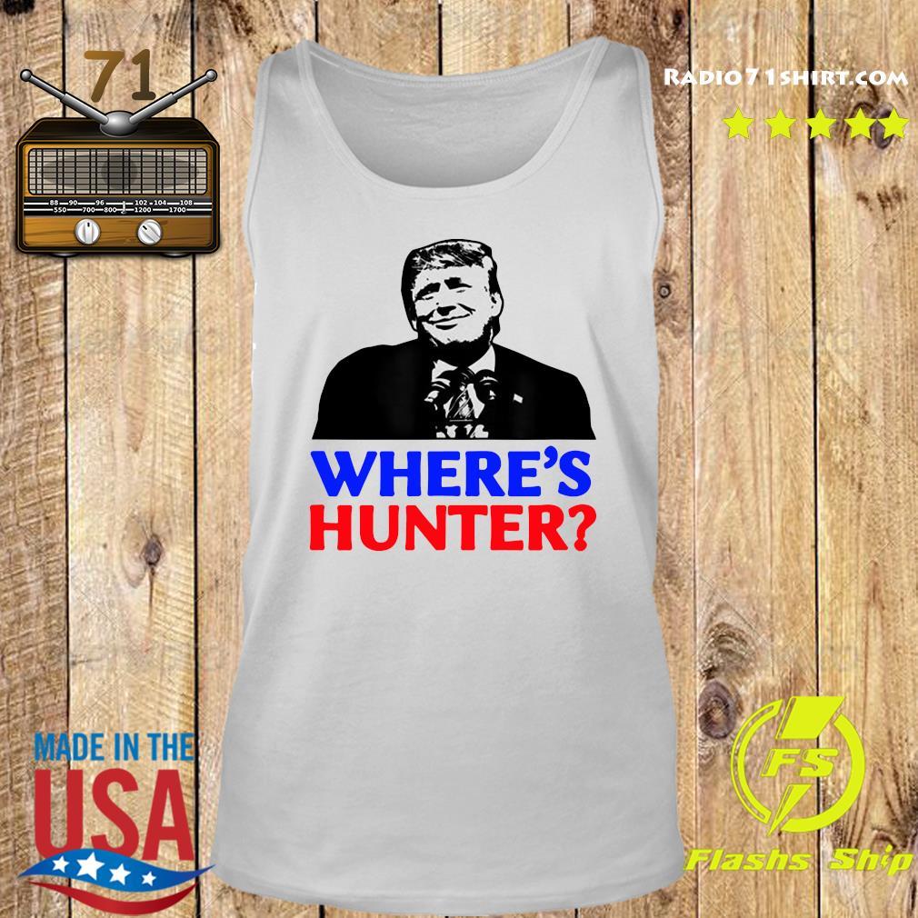 Donald Trump Where_s Hunter Shirt Tank top