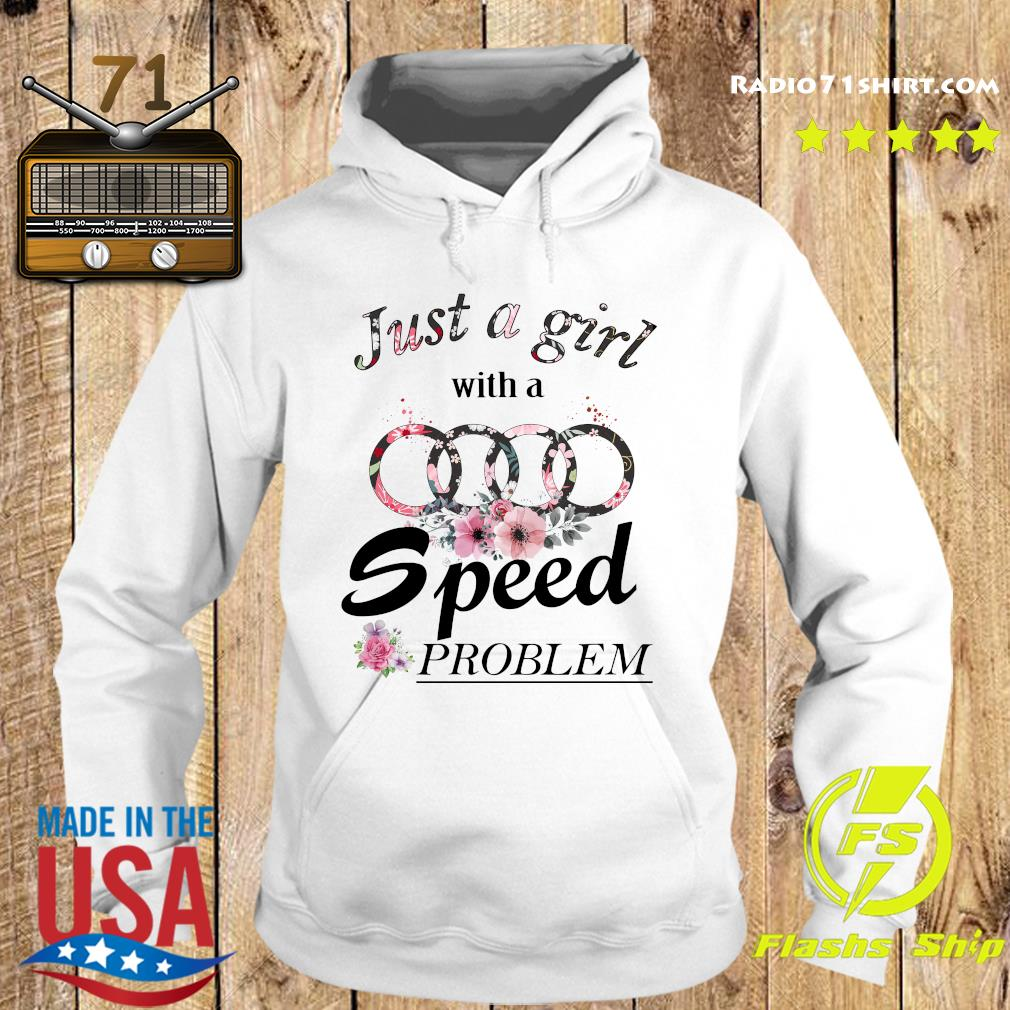 Flower Just A Girl With A Speed Problem Subaru Shirt Hoodie
