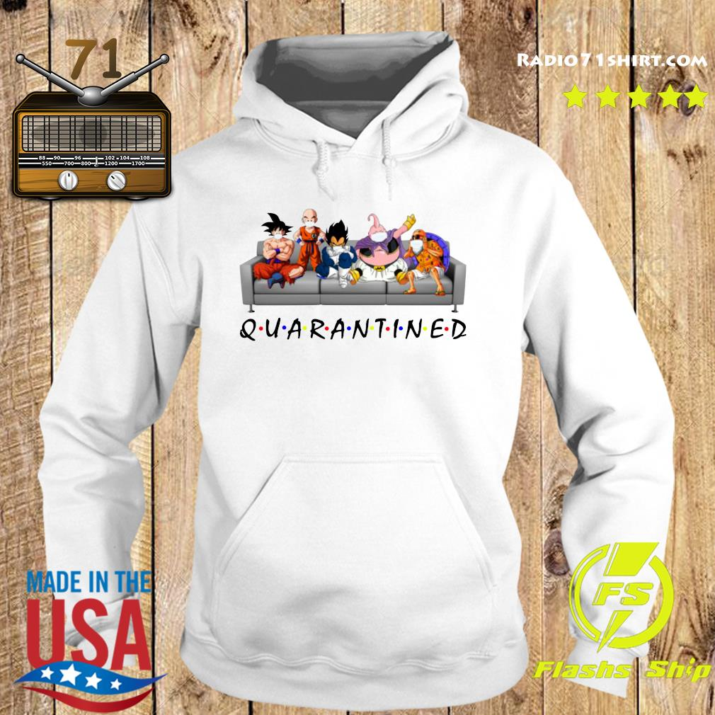 Good Dragon Ball In Sofa Stay Home Quarantined Shirt Hoodie