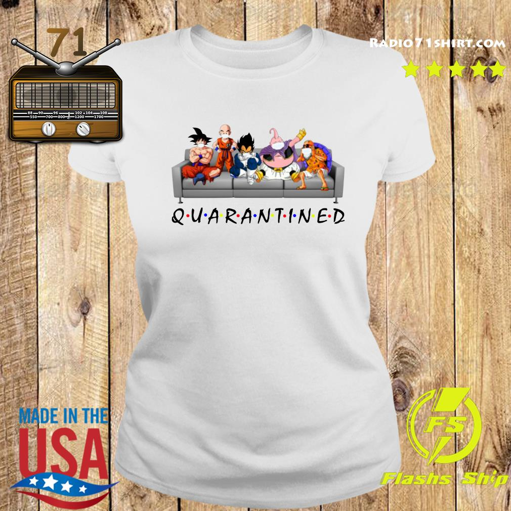 Good Dragon Ball In Sofa Stay Home Quarantined Shirt Ladies tee