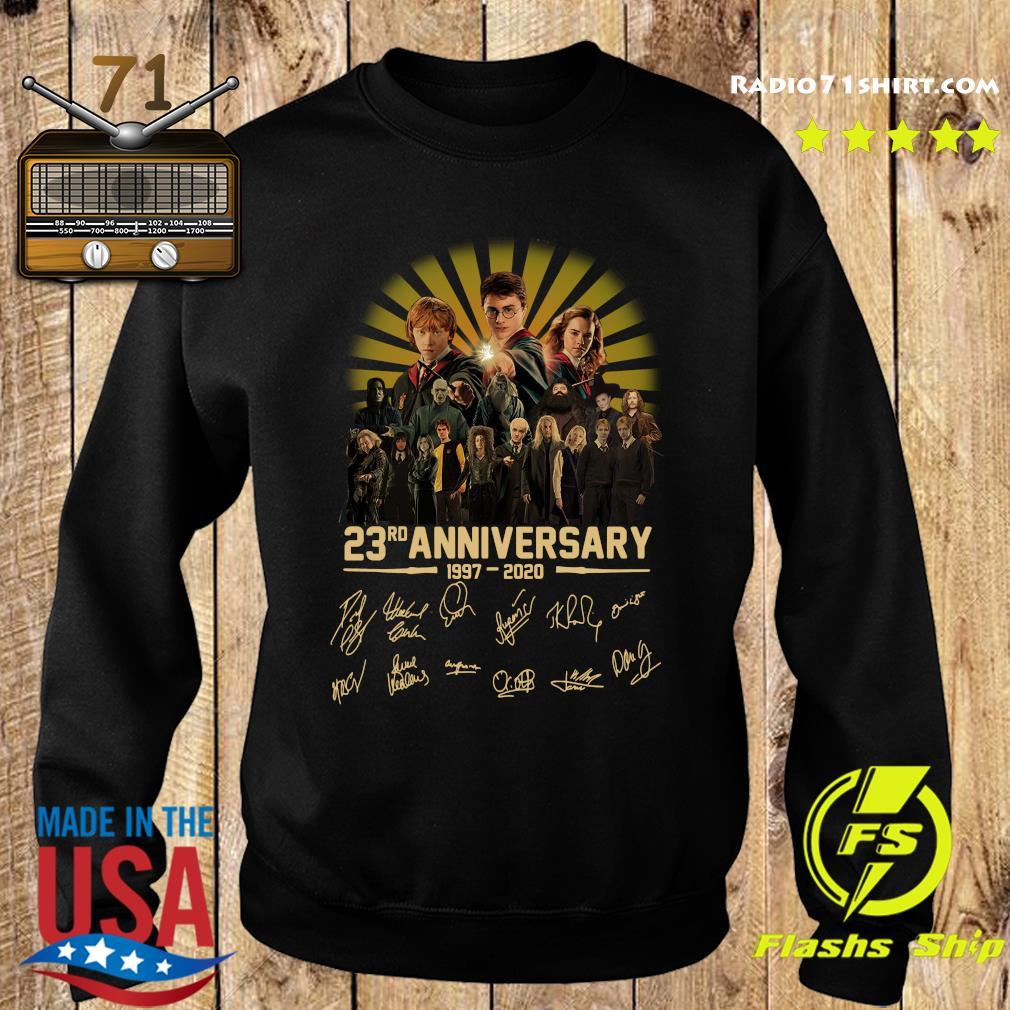 Harry Potter 23rd Anniversary 1997 2020 Signatures Shirt Sweater