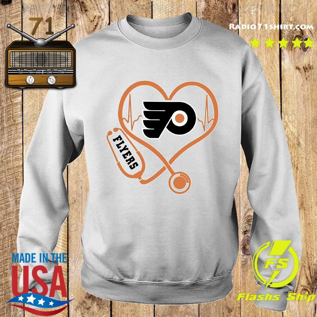 Heart Nurse Flyers Shirt Sweater