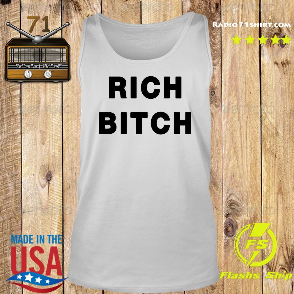 Homer Simpson Rich Bitch Shirt Tank top