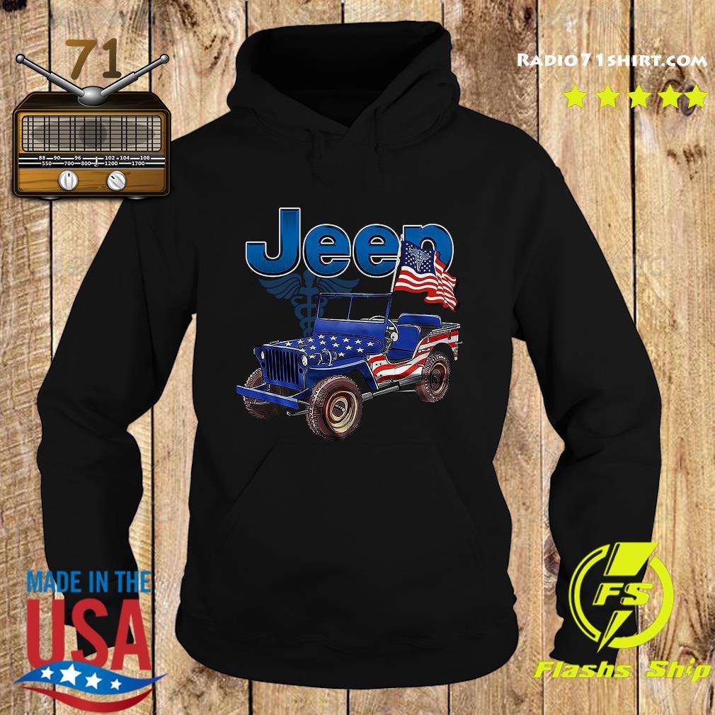 Jeep Car American Flag Shirt Hoodie
