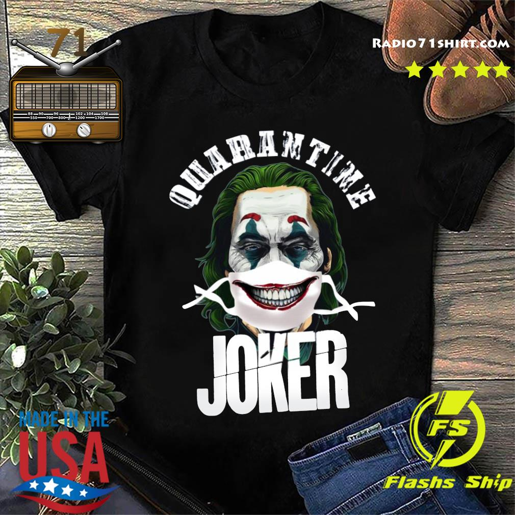 Joaquin Phoenix Quarantine Joker Shirt