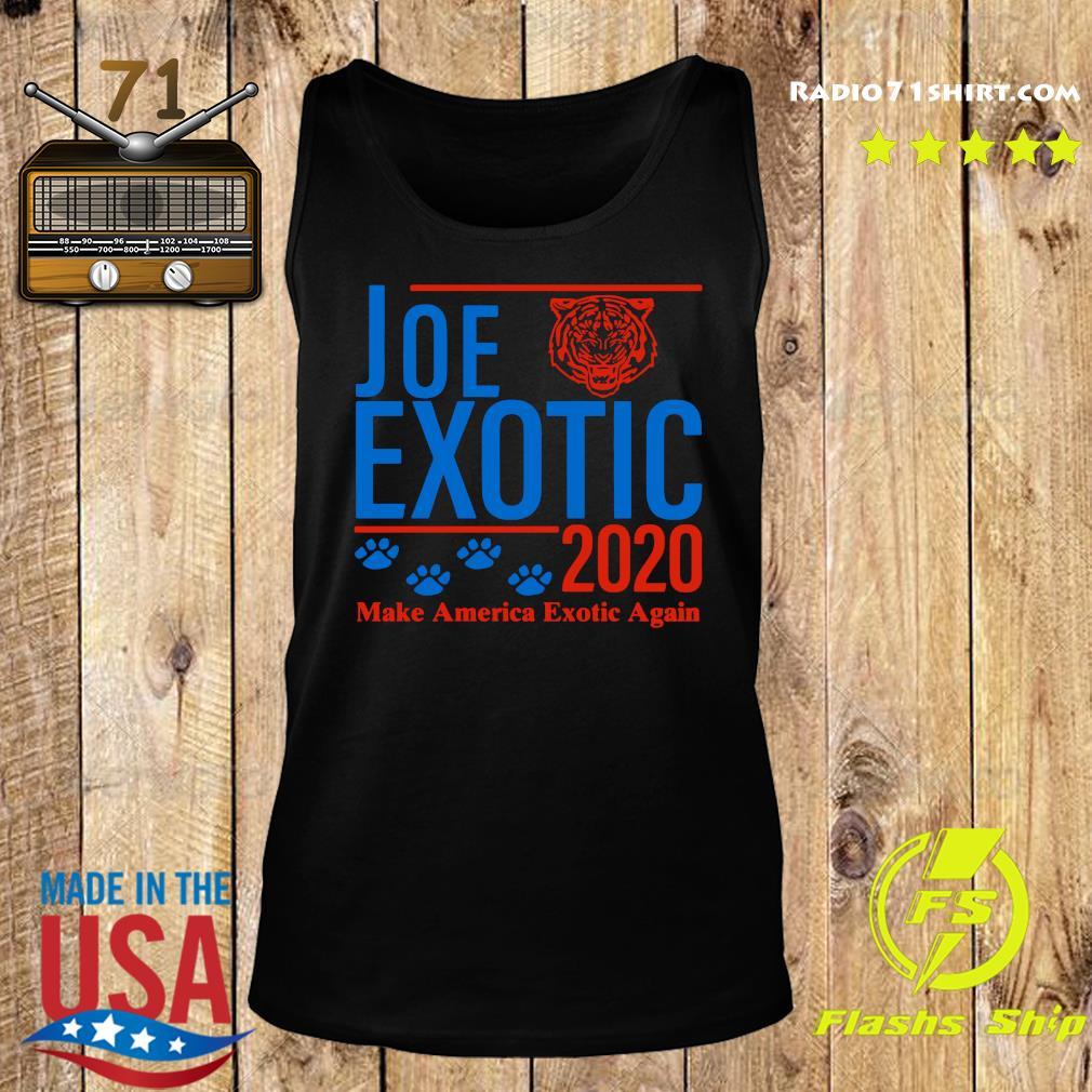 Joe Exotic 2020 Make America Exotic Again Shirt Tank top