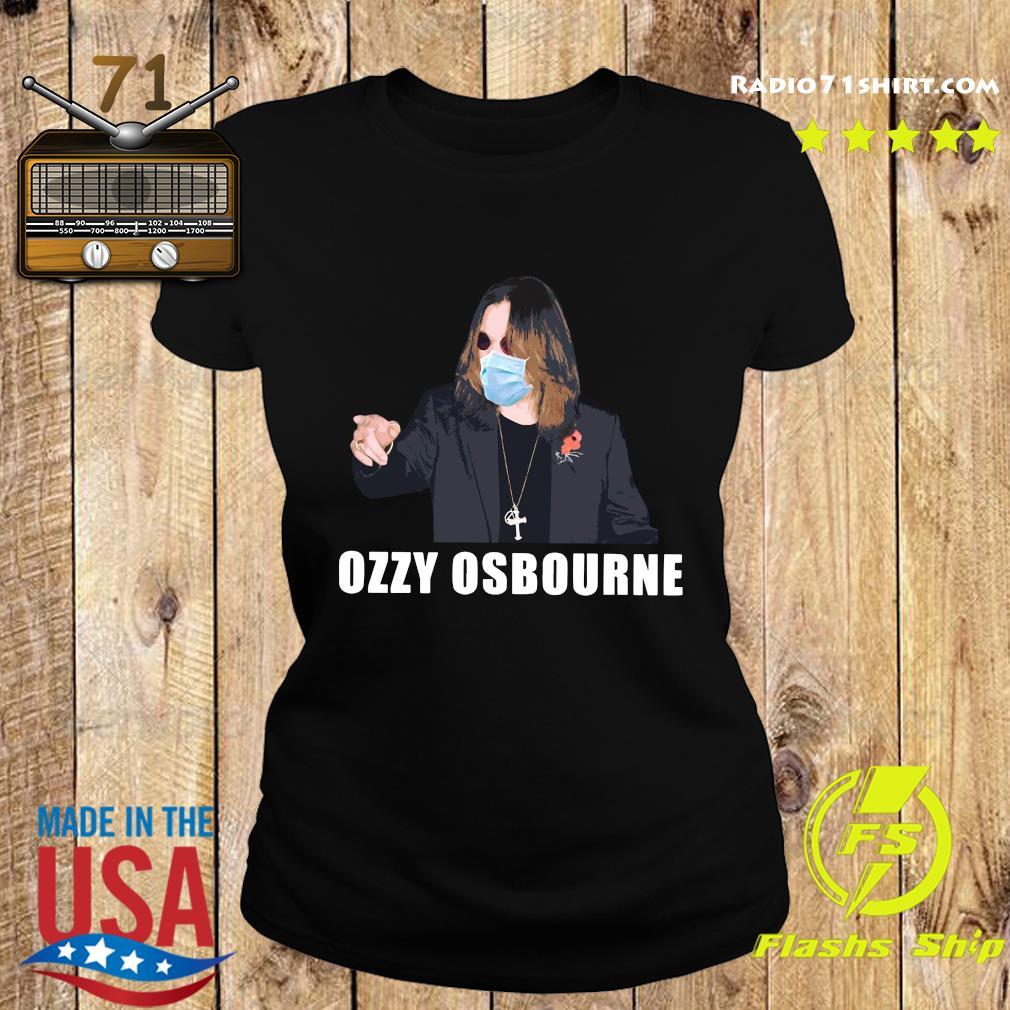 Mask Ozzy Osbourne Covid 19 Shirt Ladies tee