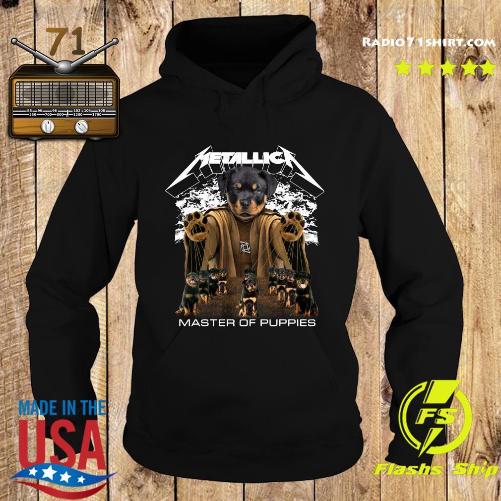 Metallica Austrian Black Master Of Puppies Shirt Hoodie