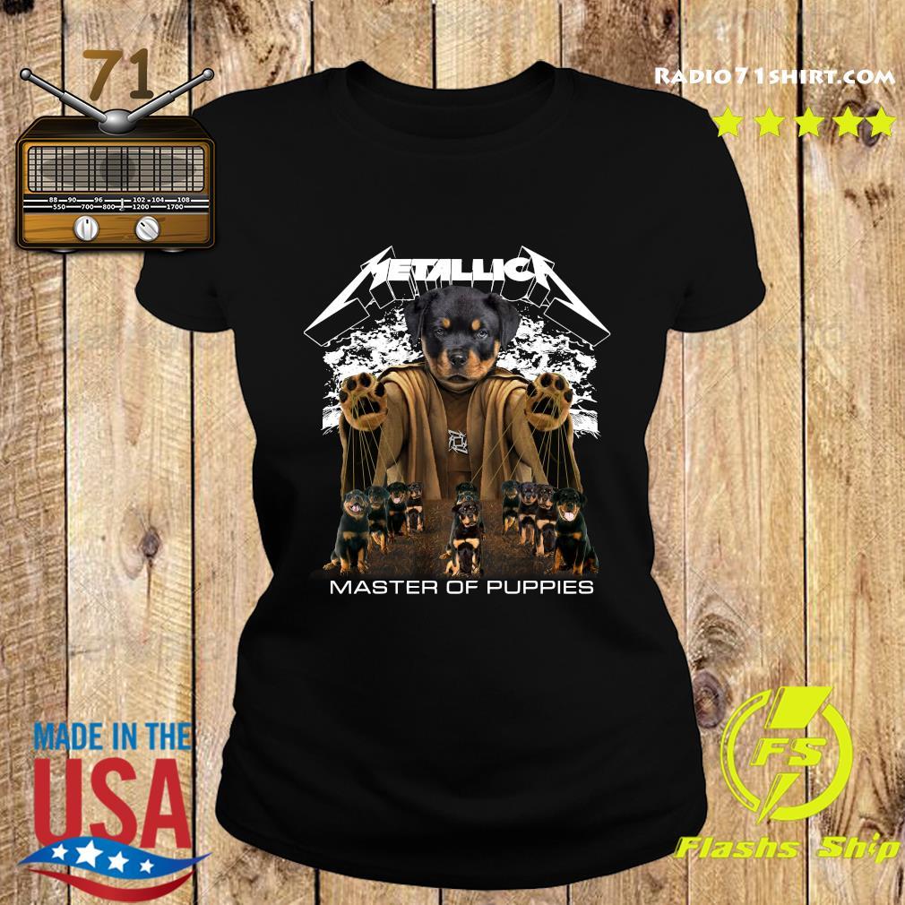 Metallica Austrian Black Master Of Puppies Shirt Ladies tee