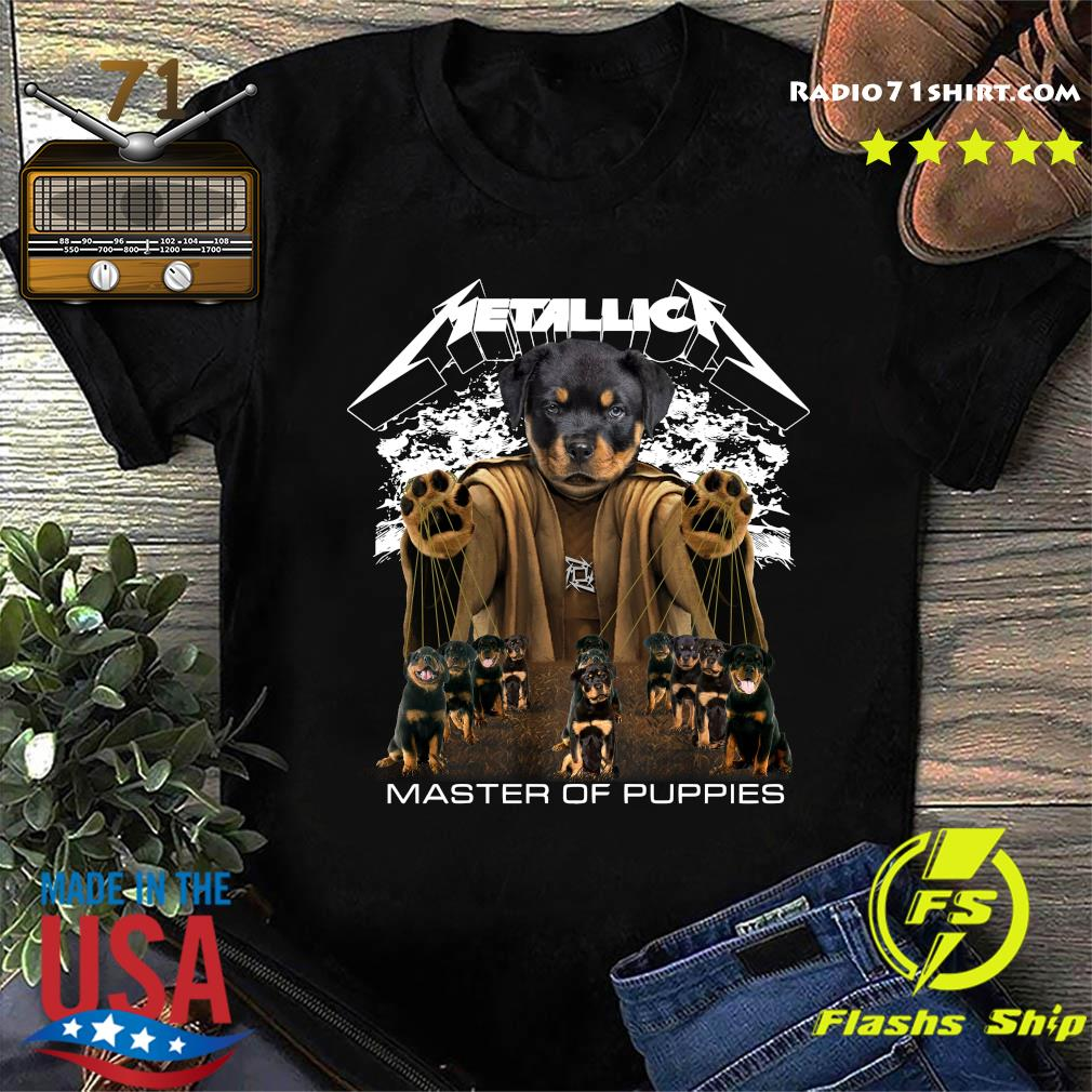 Metallica Austrian Black Master Of Puppies Shirt