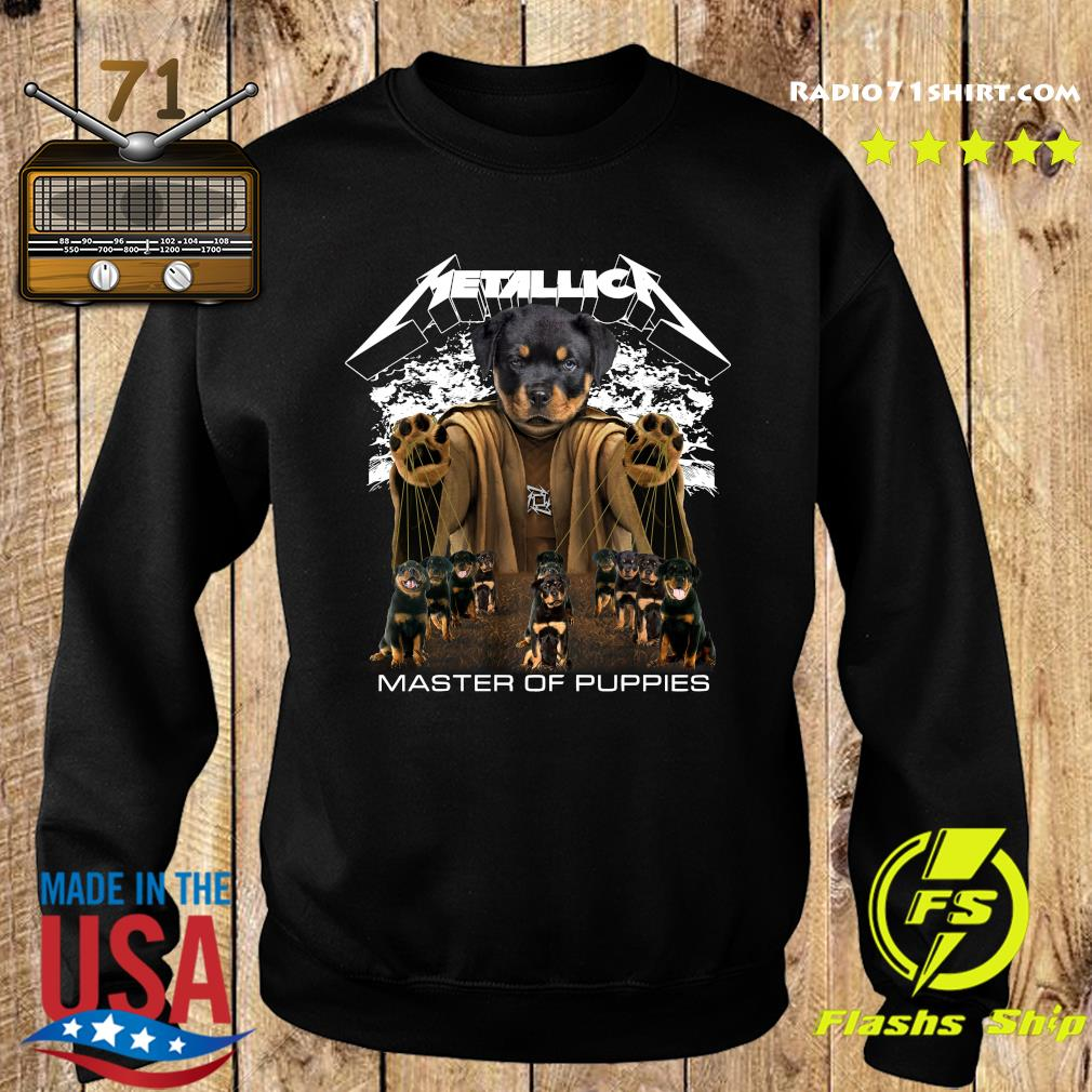 Metallica Austrian Black Master Of Puppies Shirt Sweater