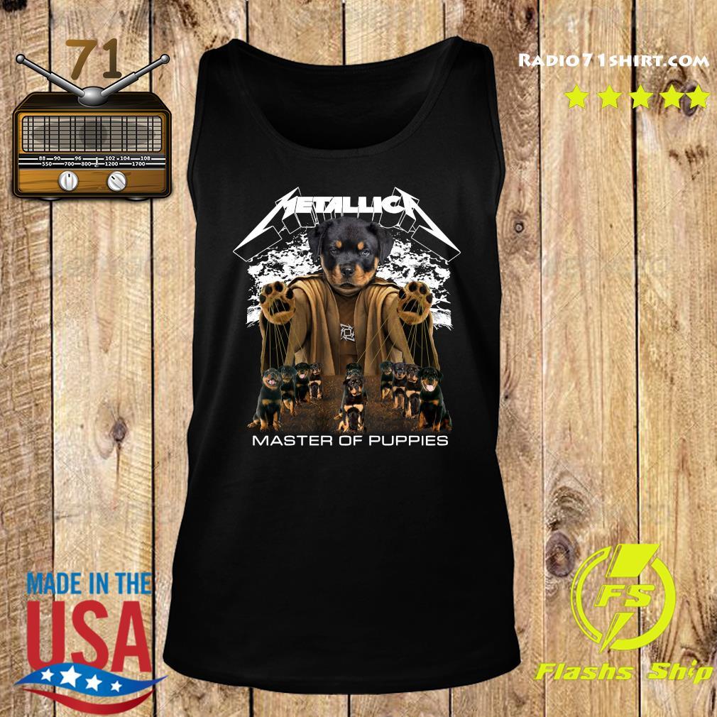 Metallica Austrian Black Master Of Puppies Shirt Tank top