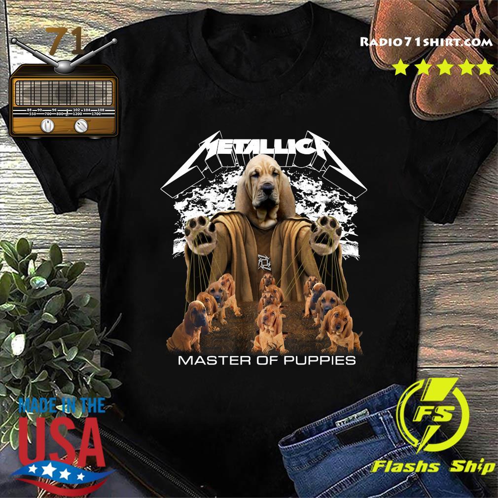 Metallica Basset Hound Master Of Puppies Shirt