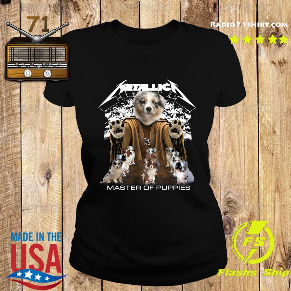 Metallica Berger Australien Master Of Puppies Shirt Ladies tee