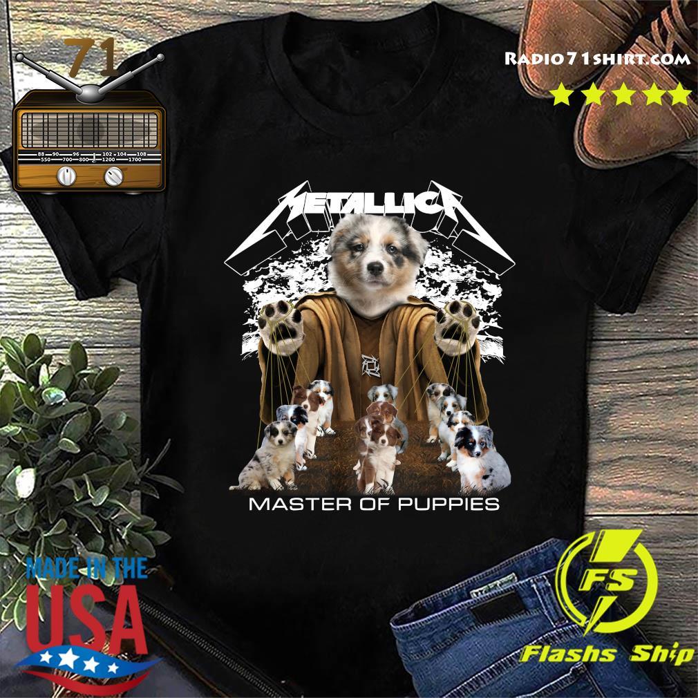 Metallica Berger Australien Master Of Puppies Shirt