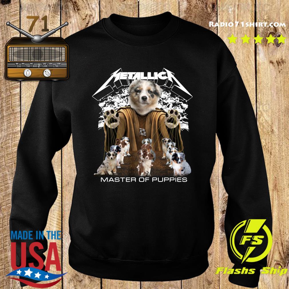 Metallica Berger Australien Master Of Puppies Shirt Sweater