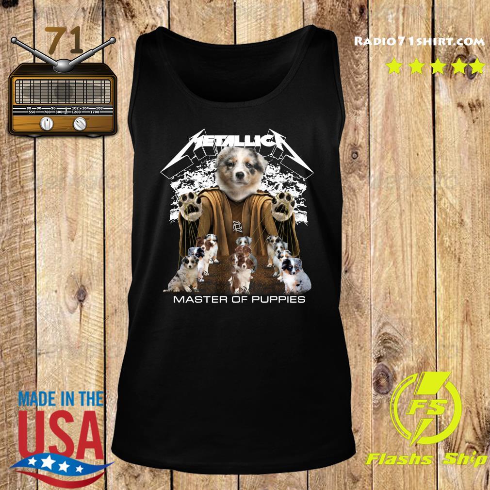 Metallica Berger Australien Master Of Puppies Shirt Tank top